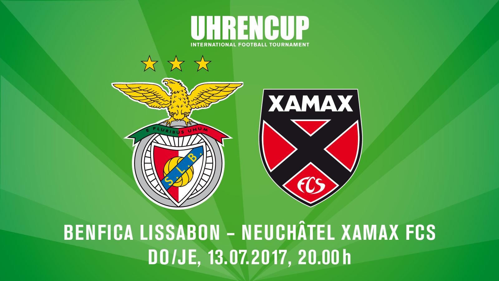 Benfica Lissabon - Neuchâtel Xamax FCS
